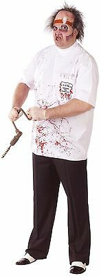 Dr Killer Driller Adult Plus Size Costume up to 6Ft 2In/ 300Lbs Morris Fw130365](Killer In Halloween)