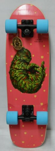 Landyachtz Dinghy Blunt Meowijuana - Blue Wheels - Cruiser - Complete Skateboard