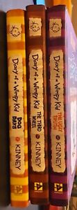 Three Diary of a Wimpy Kid Hardcovers