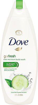 Go Fresh Cool Moisture Body Wash with NutriumMoist Dove - 24