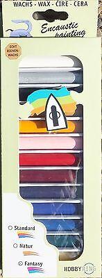 "Encaustic   Farben - Set 13 Farben ""Fantasy"" von Hobbyring"