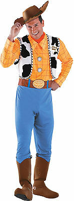 Woody Deluxe Adult Costume - Toy Story - Woody Toy Story Costume Men
