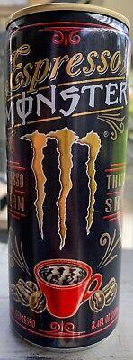 Monster Shot (NEW ESPRESSO & CREAM MONSTER ENERGY TRIPLE SHOT DRINK 8.4 FL OZ FULL CAN BUY IT )