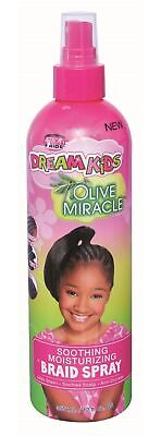 African Pride Dream Kids Olive Miracle Braid Spray - 12 fl oz (355 ml) African Pride Braid Spray