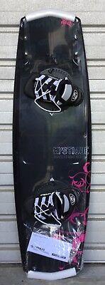 Neu TOP Hyperlite Mystic 136  Wakeboard SET m.Bindung  4 x Fins 1 A Kantenhalt