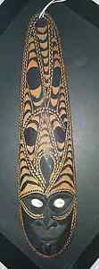 50 yr old Papua New Guinea Artifact - Carved mask Girrawheen Wanneroo Area Preview