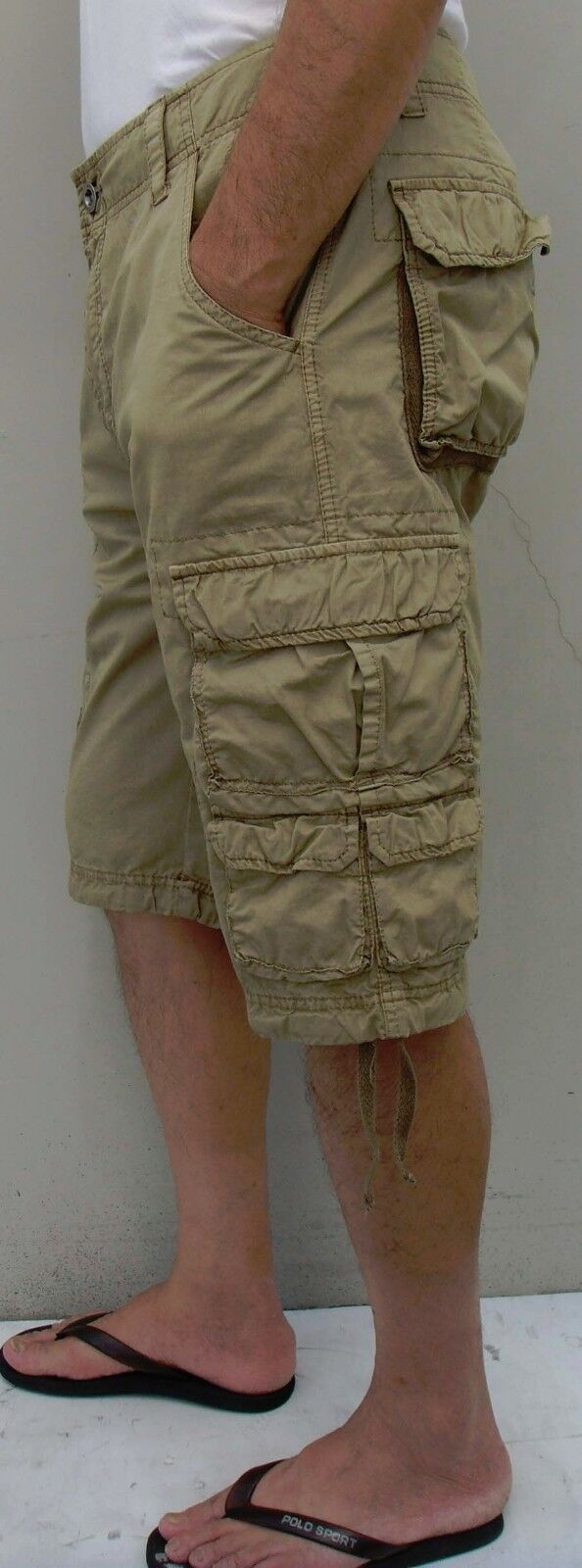"""Mens Military-style Cargo Shorts,  Inseam: 13""""  Sizes 30 to"""