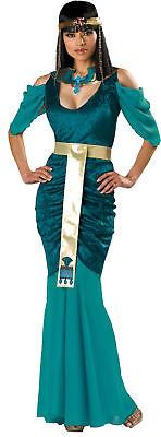 Ägyptisch Schmuck Erwachsene Damen Kostüm Prinzessin Türkis Halloween (Sexy Ägyptische Prinzessin Kostüm)
