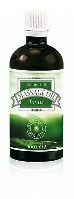 Massageöl Tonus 100ml Bio aus 100% natürlichen ätherischen und pflanzlichen Ölen