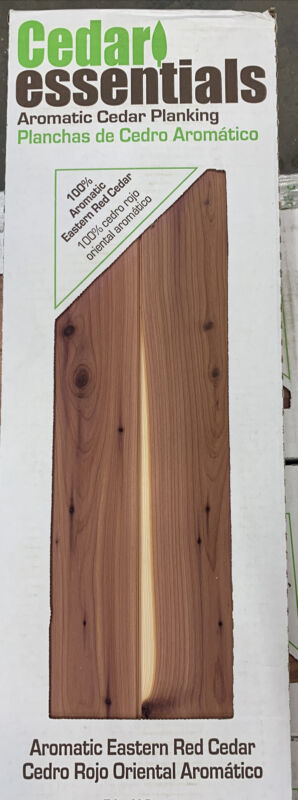 Cedar Planks Boards 1/4 in. x 3-3/4 in. x 48 in. 100% Aromatic Eastern Red  D1