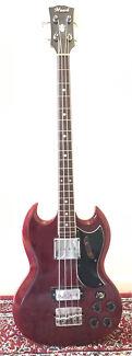 Hawk SG  1970s Bass Gibson EB-3 Style