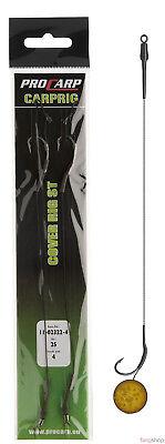 Cormoran Pro Carp Cover Rig ST Carprig Hairrig Haarvorfach Karpfen Schleie 2 Stk