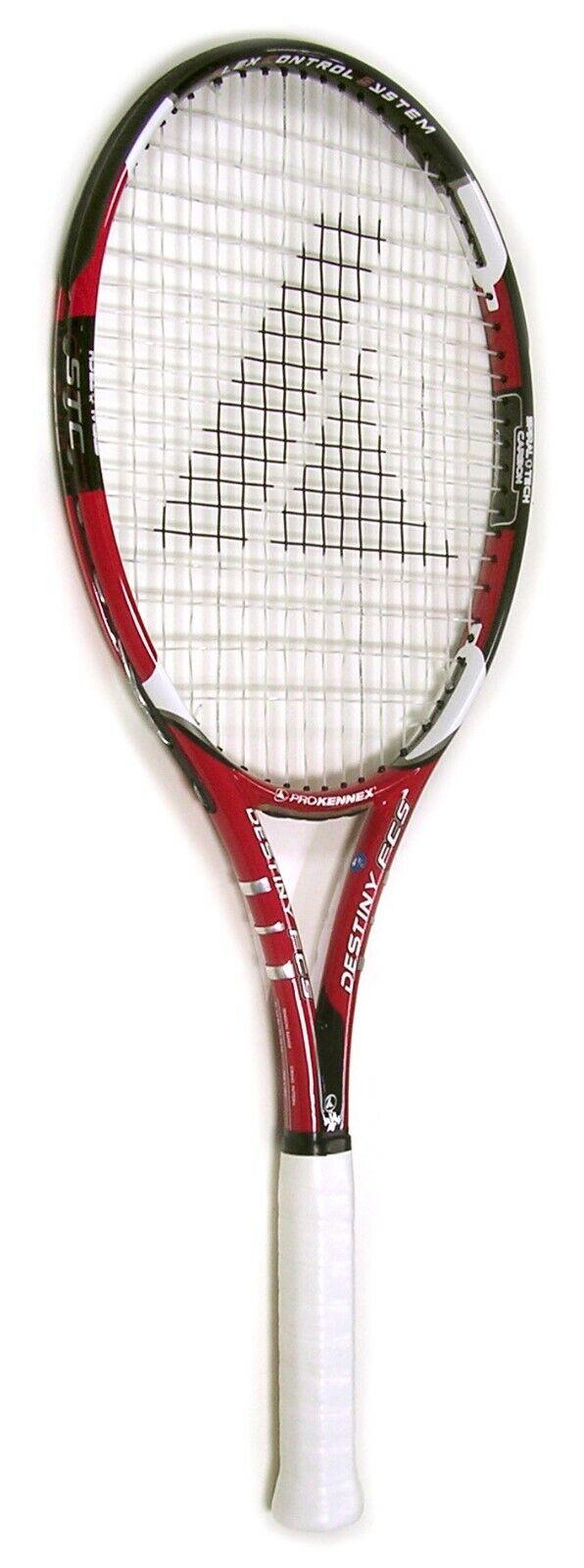 Pro Kennex Destiny Flex Control Graphite Tennis Racket - Grip Size: 3 (3/8)