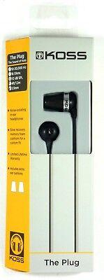KOSS 163907 The Plug Earbuds for MP3/IPOD/IPHONE/IPAD comprar usado  Enviando para Brazil