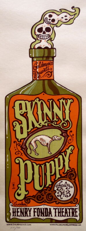 Skinny Puppy Concert Poster 2004