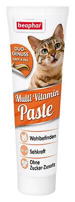 Beaphar Multi Vitaminpaste Katze 100g Multivitamin Paste für Katzen Vitamine