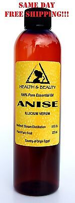 ANISE ESSENTIAL OIL by H&B Oils Center AROMATHERAPY 100% PURE 8 OZ