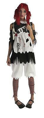 Gothic Ragdoll Girl Adult Rag Doll Costume X-Small (Gothic-ragdoll)