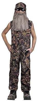 Red Neck Duck Hunter Dynasty Costume for Kids size 12-14 New by Fun World 88490 - Kids Hunter Costume