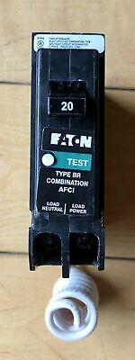 Eaton Cutler Hammer Brn120af Brcaf120 Arc Fault 20 A 15 Amp Breaker Br Brn115
