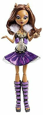 Monster High It's Alive Clawdeen Wolf Doll, New, Free Shipping