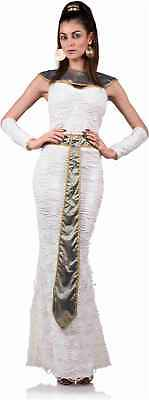 Queen Of The Nile Costume Womens Egyptian Goddess Cleopatra Fancy Dress Roman ()
