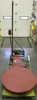 Pallet Skid Stretch Wrapping Machine 110v Semi-automatic 47 Dia. Turntable