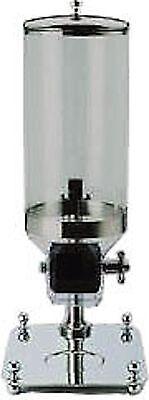 DISTRIBUTORE CEREALI inox con contenitore trasparente Lt.8 36*26*66h BUFFET