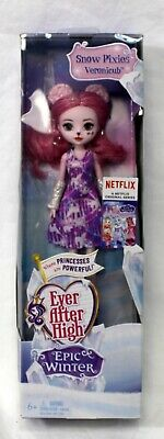 Mattel Ever After High Epic Winter Snow Pixies Veronicub New Sealed