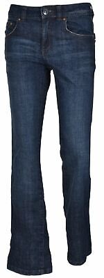 Womens Bootcut Jeans Denim Bootleg Fit Zip Fly Cotton Big And Tall Trouser Pants ()