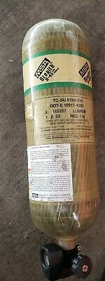 Msa Stealth H-45 45 Min. 4500 Psi Carbon Scba Air Bottle Cylinder Tank Mfr 2003