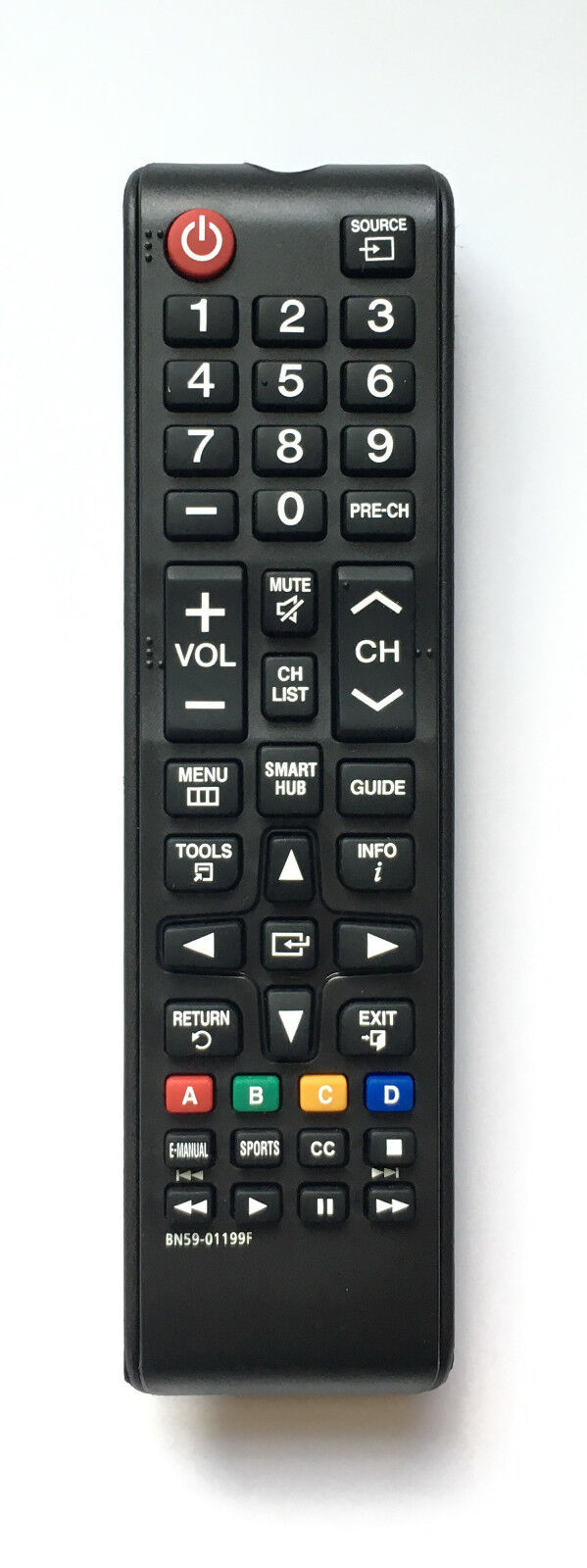 Купить USBRMT - New Replacement Remote Control BN59-01199F For Samsung LCD LED HDTV Smart TV