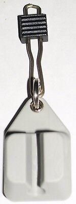 Doppel-Fliegendose klar wasserdicht Micro Slit 9,5x7x3,5cm by AVR