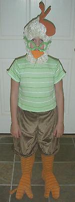 DISNEY WORLD CHICKEN LITTLE Fancy Dress Kids COSTUME XXS 2/3
