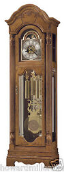 Howard Miller 611-196 Kinsley - Traditional Oak Westminster Chime Floor Clock