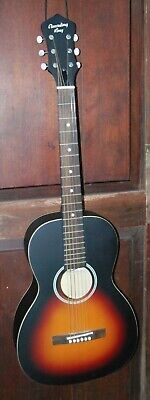 "Recording King RPH-05 Solid Top Parlor ""O"" Size Steel String Acoustic Guitar"