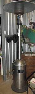 Patio LPG Heater. Stainless Steel  Mobile in auction York York Area Preview