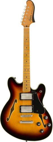 Squier Classic Vibe Starcaster Semi-Hollow Electric Guitar - 3-Colour Sunburst