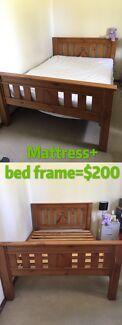 Mattress +bed frame