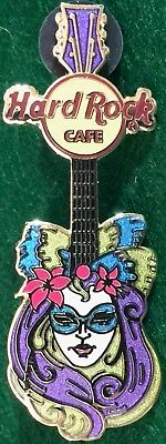 Hard Rock Cafe Online 2009 Venezianische Maske Gitarre Pin #3 Karneval Mardi
