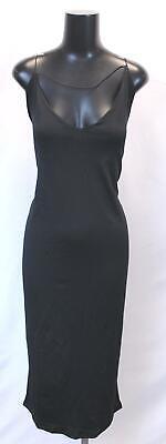 Boohoo Women's Plus Plunge Front Strap Detail Midi Dress BF5 Size US:20 UK:24