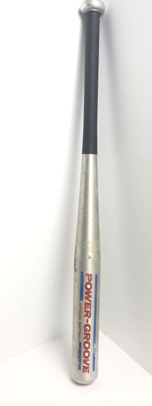 """Wilson Power Groove Softball Bat A9622 29"""" Aluminum Metal"""