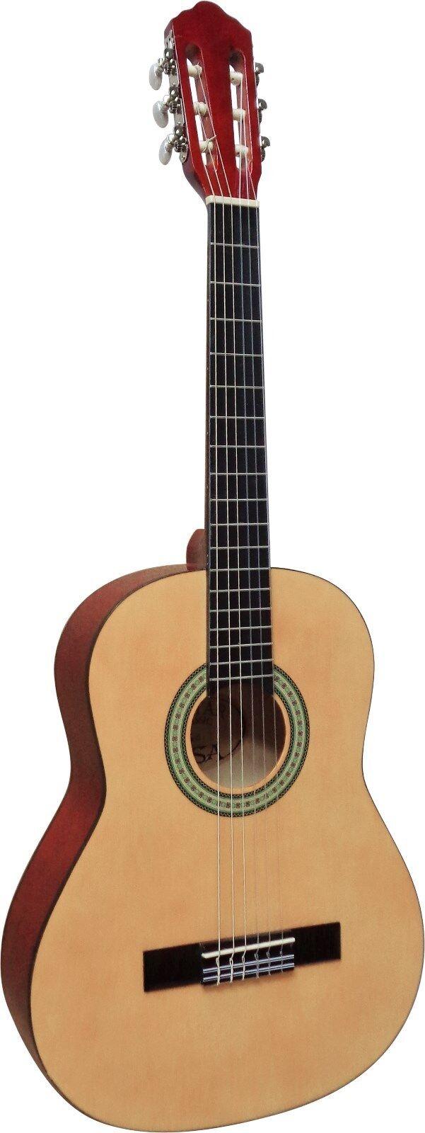 Konzertgitarre - Gitarre 3/4 natur, MI-classic-jugend-mit Zubehör - Set!n