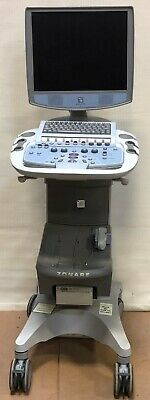 Zonare Smart Cart For Z.one Ultrasound System 85000s-00 With Printer Tested