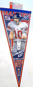 New York Giants Super Bowl Pennant