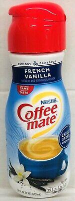 Nestle Coffee Mate French Vanilla Liquid Creamer Pantry Pack 16 oz Fat Free French Vanilla Creamer