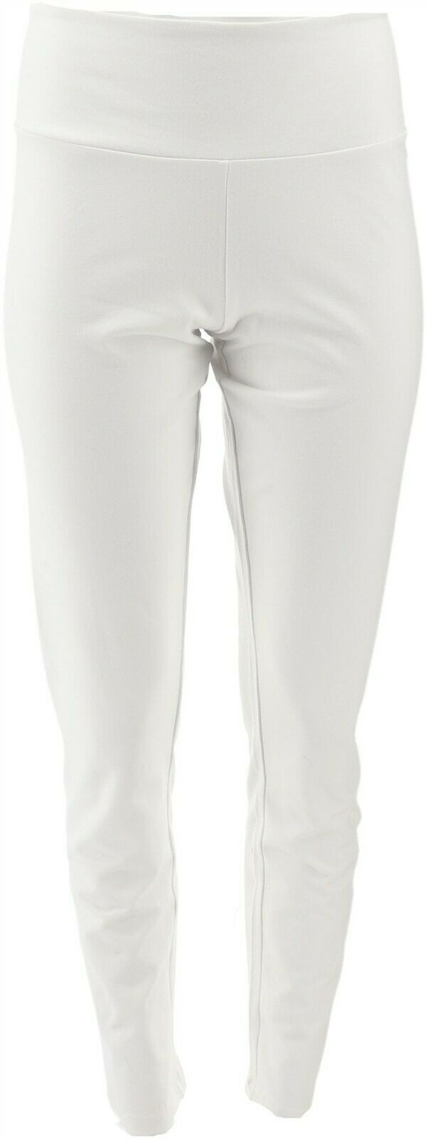 AnyBody Tall Cozy Knit Jogger Pants Seaming Heather Indigo S NEW A349795