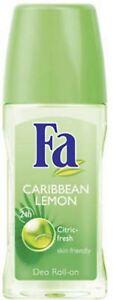 FA Hour Roll-On Deodorant, Caribbean Lemon 1.7 oz