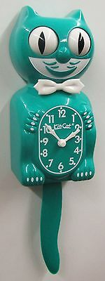 Limited Kit Battery -  LIMITED EDITION KIT CAT CLOCK GREEN BEAUTY USA MADE (FREE BATTERIES).
