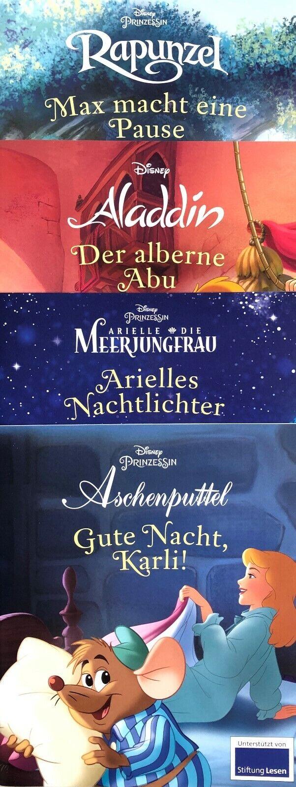 Kinderbuch Disney 4er Bücherset 4 märchenhafte Geschichten